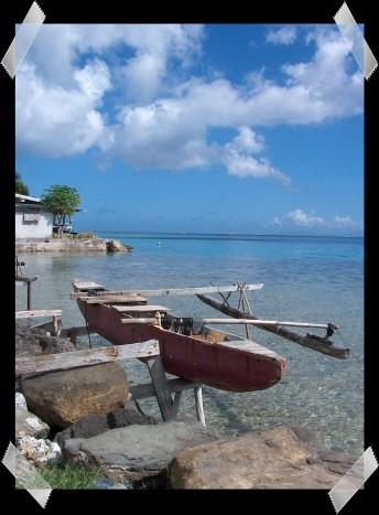 fransk polynesien strand
